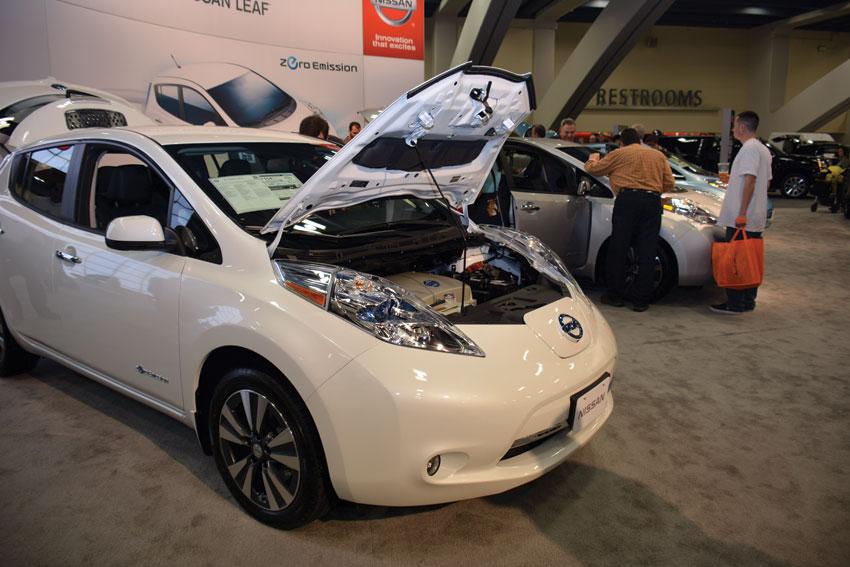 Nissan Leaf, the top selling all electric car in U.S. (Amar D. Gupta   Siliconeer)