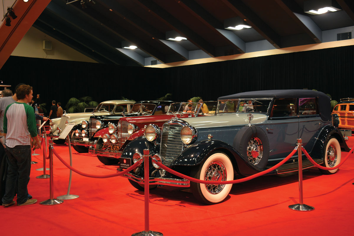 Classic cars presented by the Academy of Art University. (Amar D. Gupta   Siliconeer)