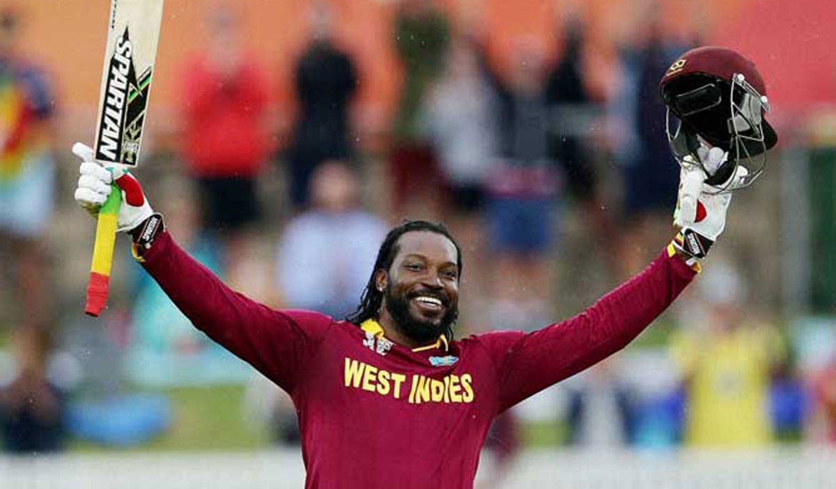 05-FEB26-SPORTS-CRICKET-WEST-INDIES-ZIM-GAYLE-WCC-SLIDER