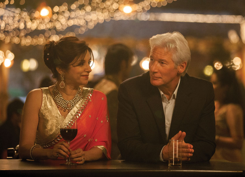 "Lilette Dubey and Richard Gere (r) in ""The Second Best Exotic Marigold Hotel."""
