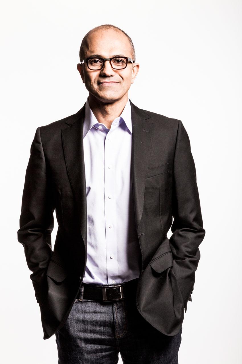 Microsoft CEO Satya Nadella. (Microsoft)