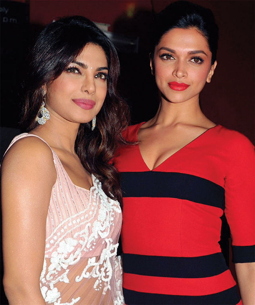 "Priyanka Chopra and Deepika Padukone will perform together in ""Bajirao Mastani."""