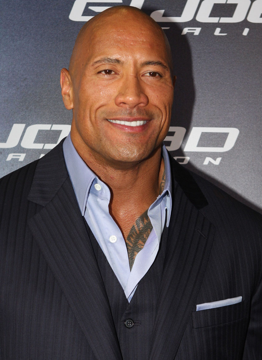 Dwayne Johnson at the G.I. JOE: RETALIATION - Red carpet movie premiere, at Event Cinemas, Sydney, Australia 2013. (Eva Rinaldi | Wikimedia Commons)