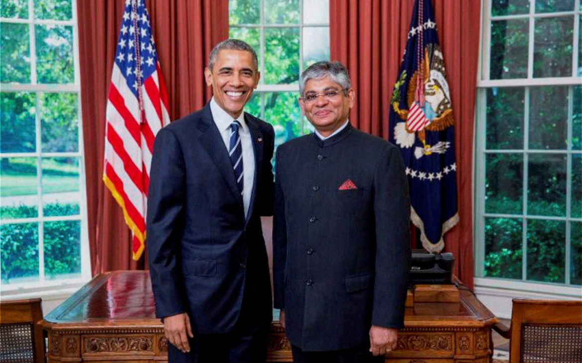 Siliconeer | NEW INDIAN AMBASSADOR MEETS PRESIDENT