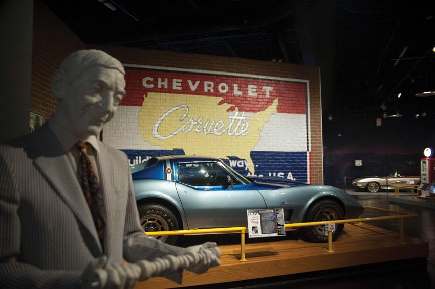 Zora Arkus-Duntov, a bit of Corvette nostalgia. (National Corvette Museum)
