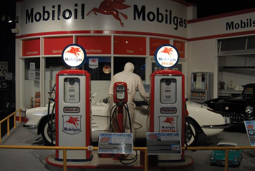Nostalgia is big at the Corvette Museum. (National Corvette Museum)