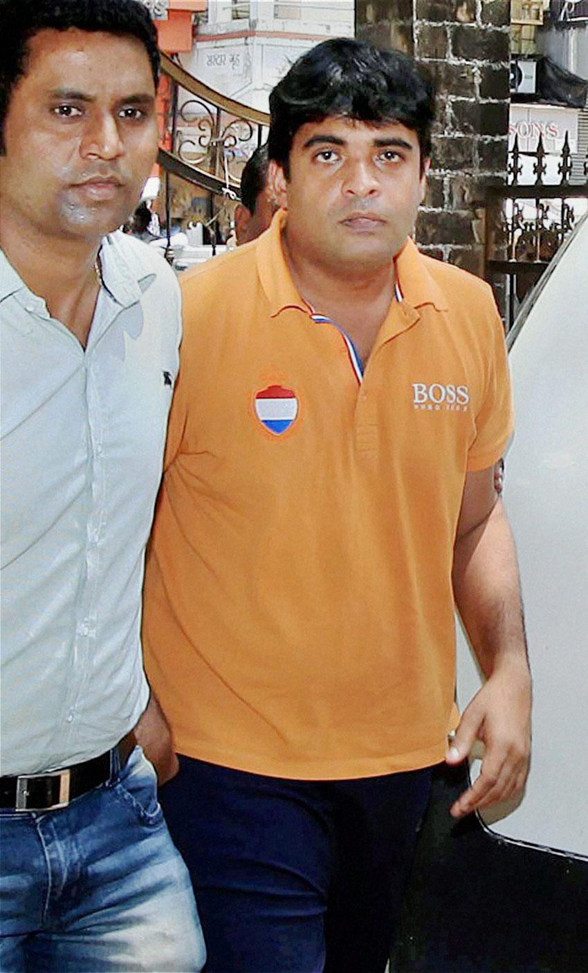 File photo of Chennai Super Kings' official Gurunath Meiyappan. (Press Trust of India)