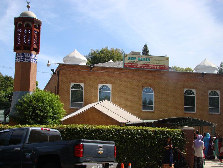 Sacramento Downtown Historic Mosque.