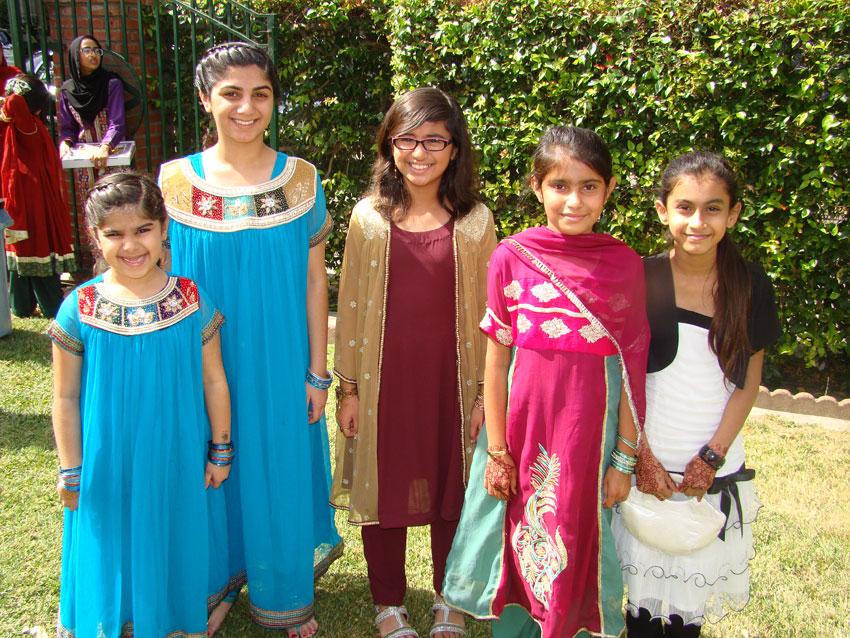 Sacramento Downtown Mosque Kids at Eid.