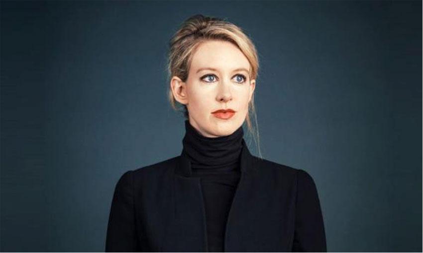 Elizabeth Holmes, CEO Theranos.