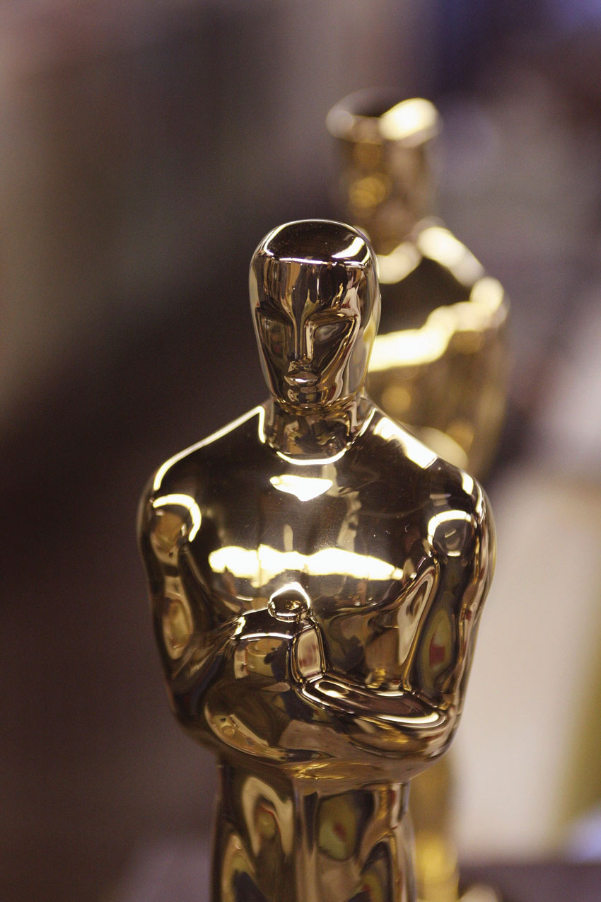 Oscar statuettes.  (Scott Olson | Getty Images)