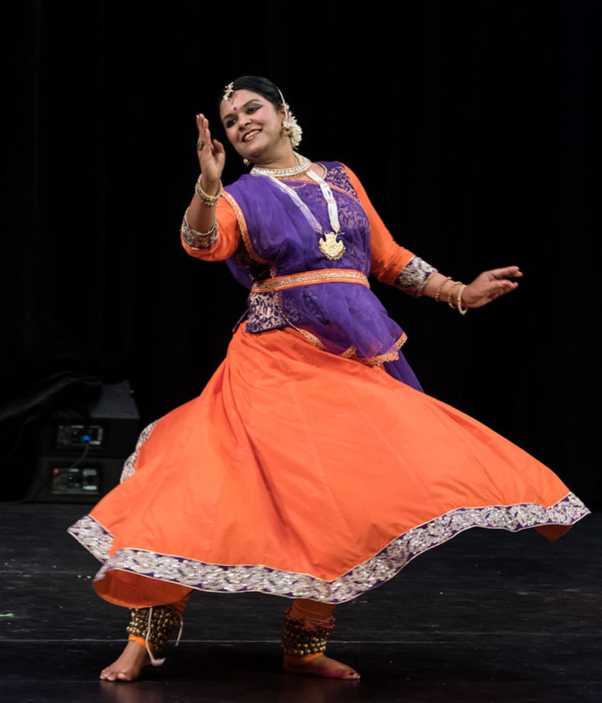 Fremont's very own Anupama Srivastava performs at Smith Center in Ohlone College, Sept. 27.