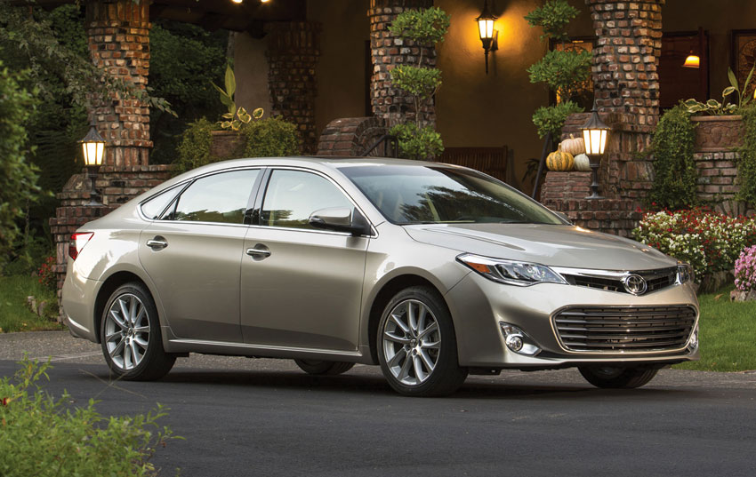 Exterior view of the Toyota Avalon.