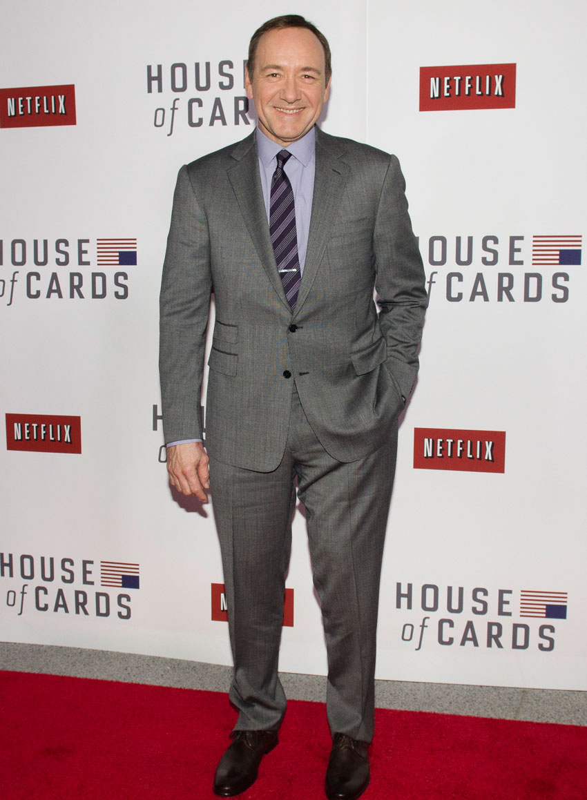File photo of Kevin Spacey posing on the red carpet during the Netflix's 'House Of Cards' Washington DC screening at NEWSEUM on Jan. 29, 2013, in Washington, DC. (Kris Connor | Getty Images)