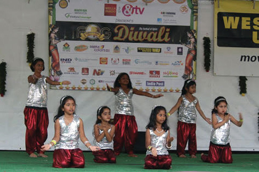 Kids' dance competition and cultural show. (Courtesy: Ritu Maheshwari)