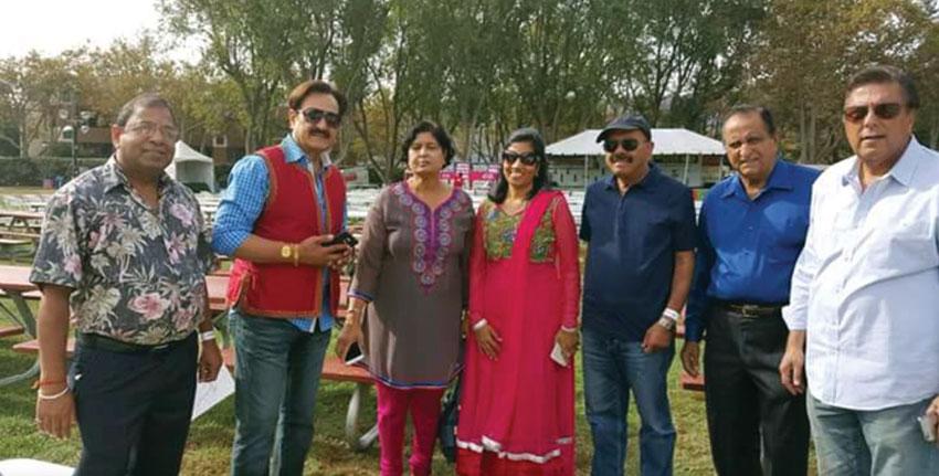 The FOG Diwali organizing committee,(l-r) Raj Joshi; Dr. Romesh Japra, founder and convener, FOG; Naresh Sodhi; Ritu Maheshwari; Rajesh Verma; Ram Malik; Shawn Ramani. (Courtesy: Ritu Maheshwari)