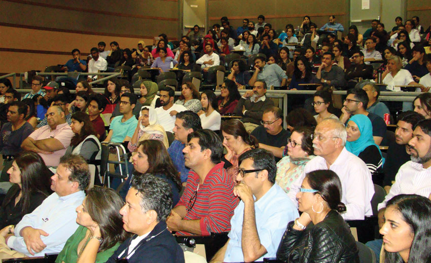 """House full for the screening of """"Manto"""" at UC Berkeley."""