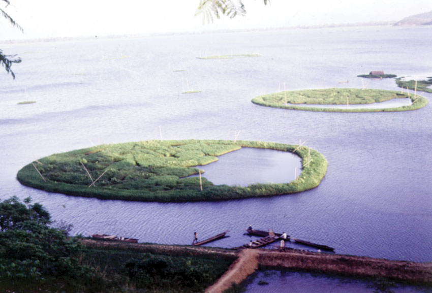 Floating Island, Manipur. (Incredible India)