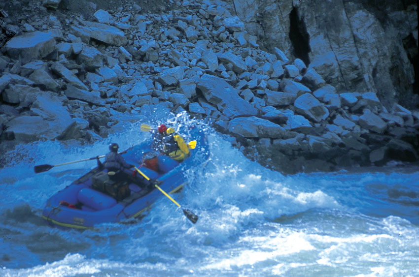 Rafting, Siang River, Arunachal Pradesh. (Incredible India)