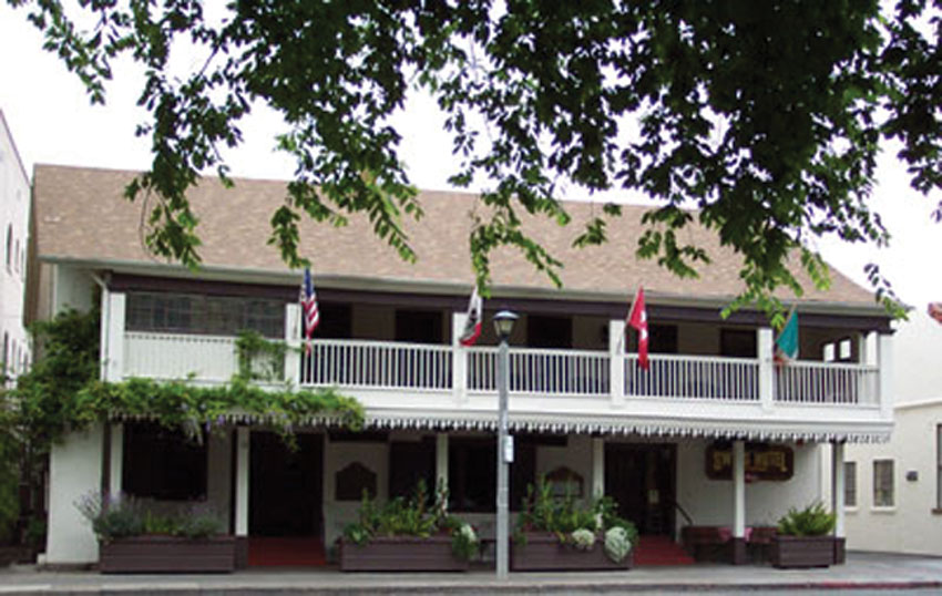 Don Salvadore Vallejo built his home in 1836 and now houses the historical Swiss Hotel. (Courtesy: Swiss Hotel)