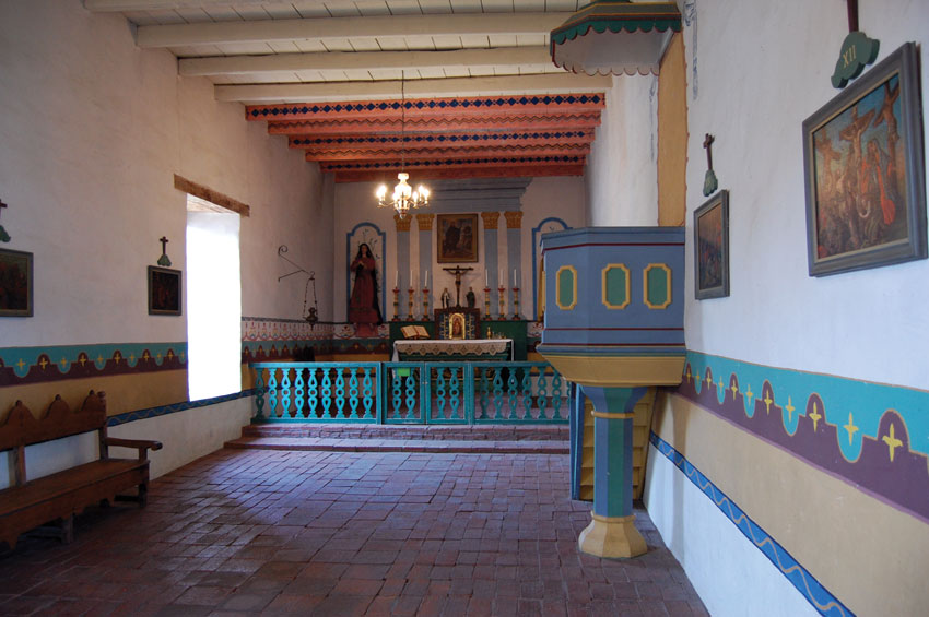 General Vallejo built this chapel for the Mission Solano. (Al Auger)