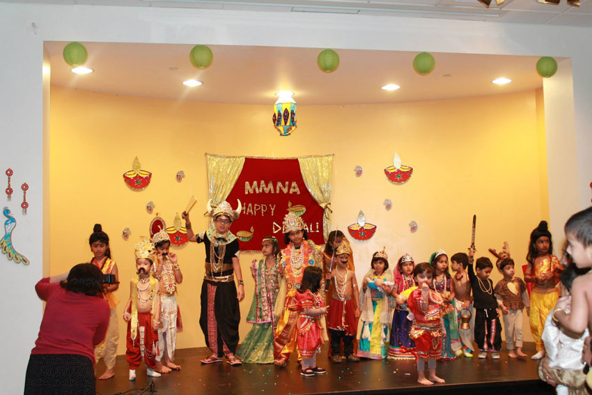 "Kids performed ""Ram Leela"" at last year's MMNA SW Diwali celebrations."
