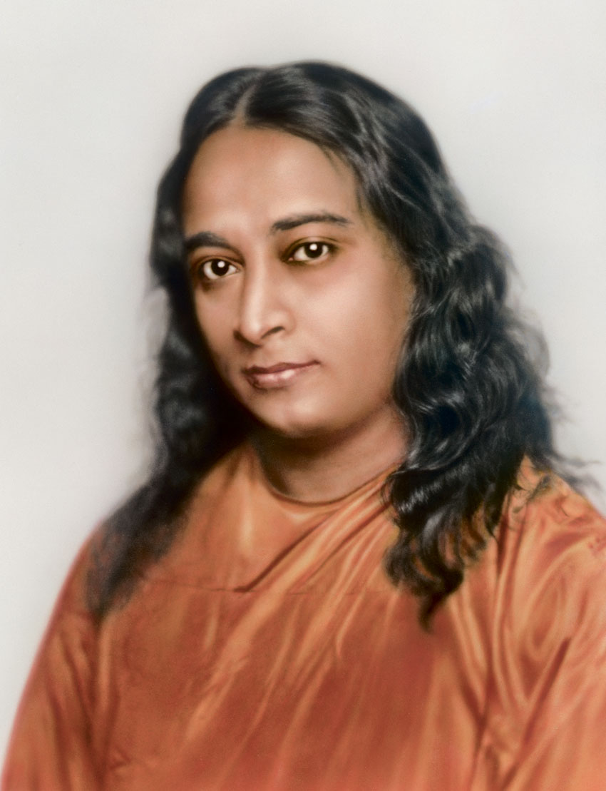 "Portrait of Paramahansa Yogananda used on the cover of ""Autobiography of a Yogi."" (Courtesy: Self-Realization Fellowship, Los Angeles, Calif.)"