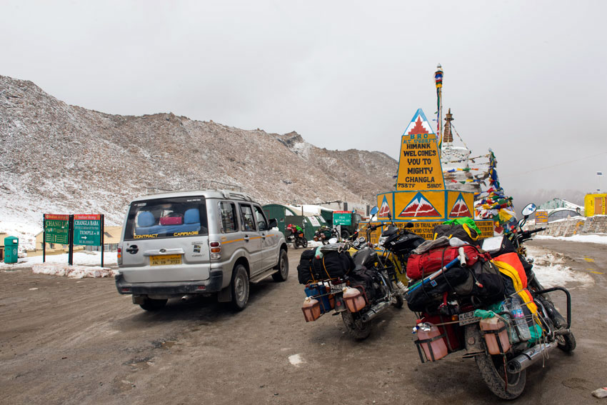 A highway in Ladakh.