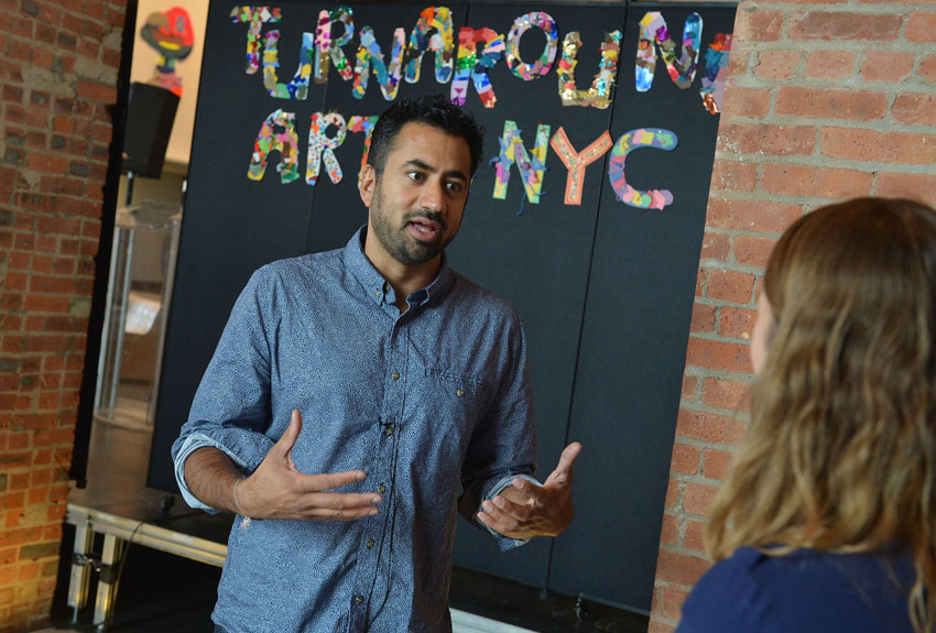 Kal Penn attends a press conference launching Turnaround Arts in New York City Schools at the Brooklyn Museum on Sept. 22, 2015 in Brooklyn, New York.  (Slaven Vlasic   Getty Images   NAMM)