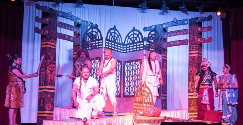 """Chanakya"" performance at ICC in Milpitas, Calif., May 28. (Raj Budwal)"