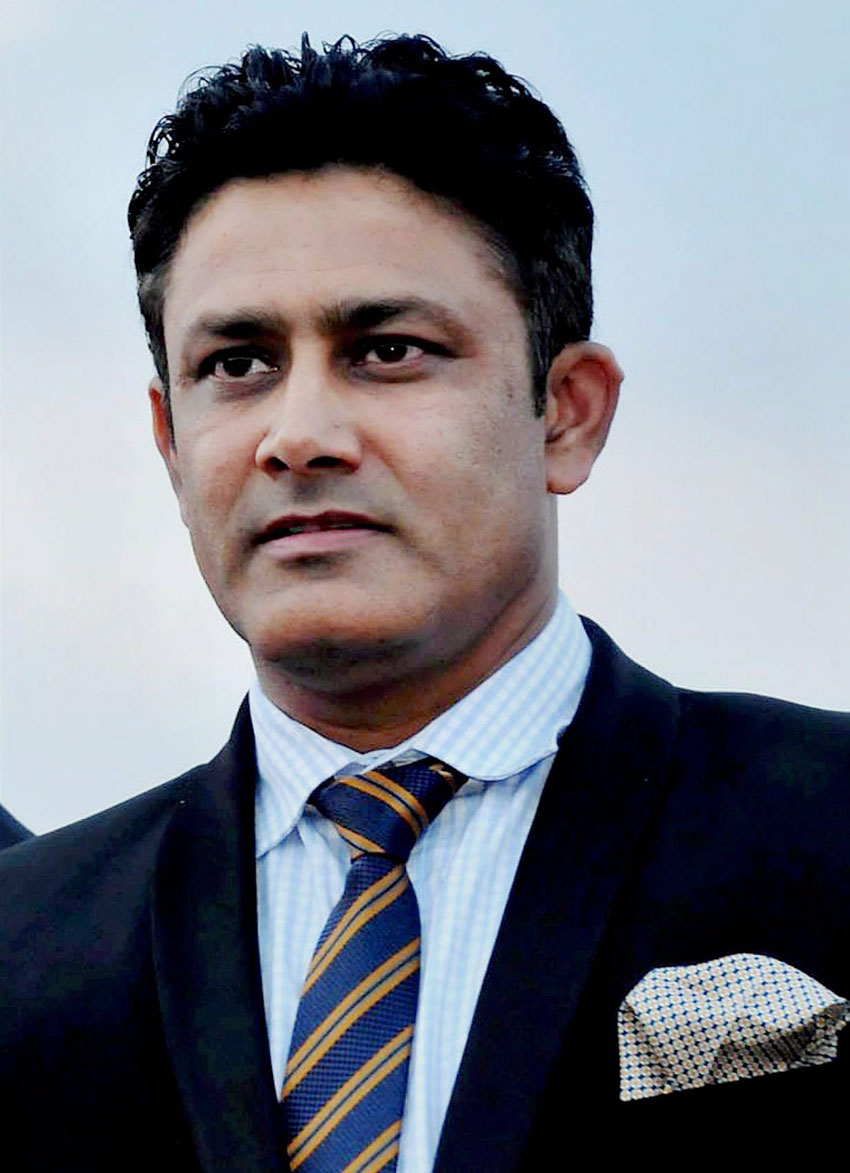 File photo of Cricket legend Anil Kumble who was appointed as the Head Coach of India cricket team, June 23. (Press Trust of India)
