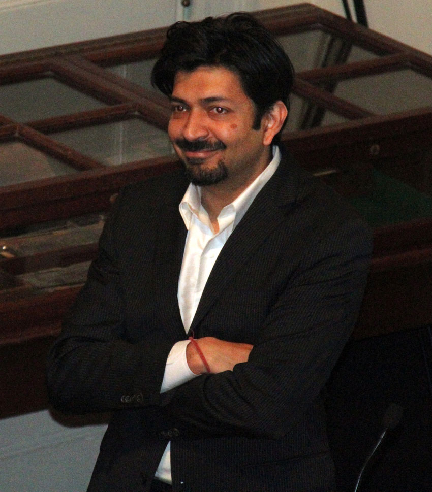 "Dr. Siddhartha Mukherjee, author of ""The Gene – An Intimate History."" (Wikimedia Commons)"