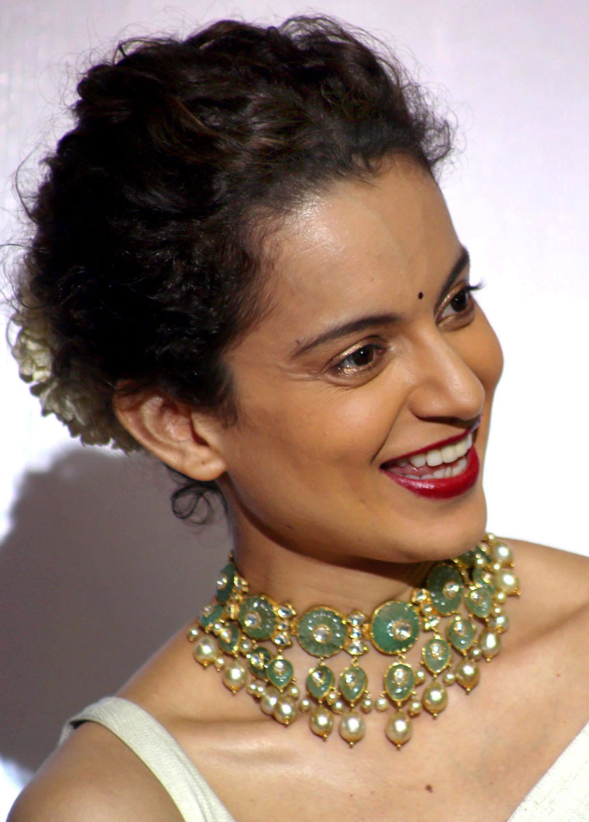 Kangana Ranaut at the launch of the short film 'Dont Let Her Go' in Mumbai, Aug. 10. (Press Trust of India)