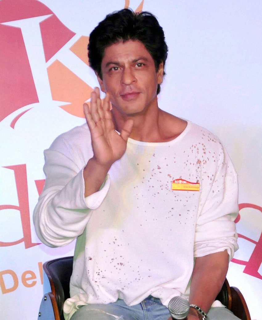 Shah Rukh Khan. (Press Trust of India)