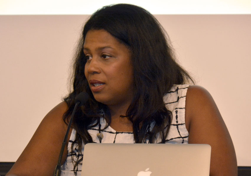 Rue Mapp, founder and CEO of Outdoor Afro. (Amar D. Gupta | Siliconeer)