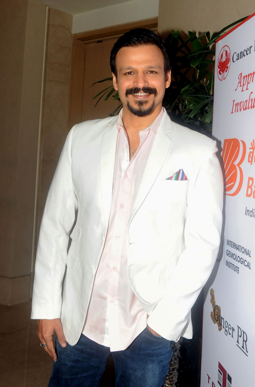 Vivek Oberoi at an anti-tobacco event organized by the World Health Organization and Indian Ministry of Health in Mumbai, June 11. (AFP/Getty Images)