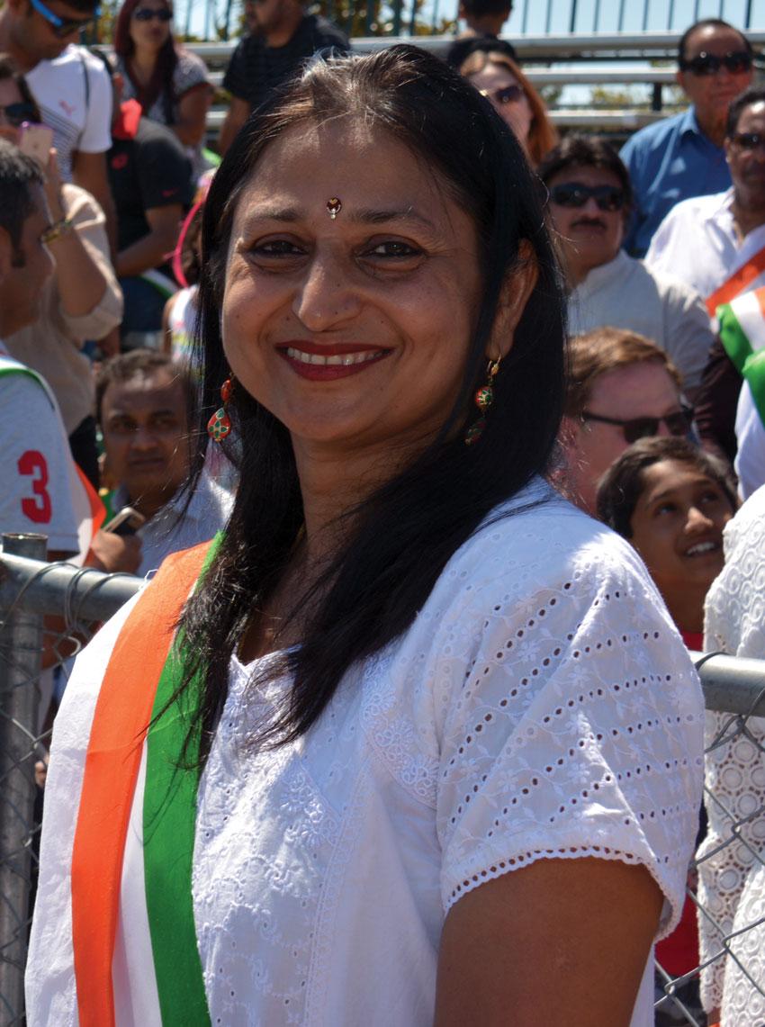 Cupertino vice-mayor Savita Vaidhyanathan. (Amar D. Gupta/Siliconeer)