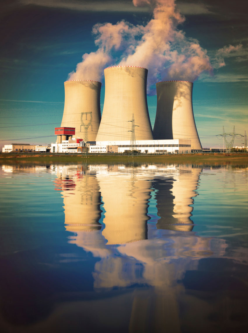 A Nuclear Power Plant. (Getty Images)