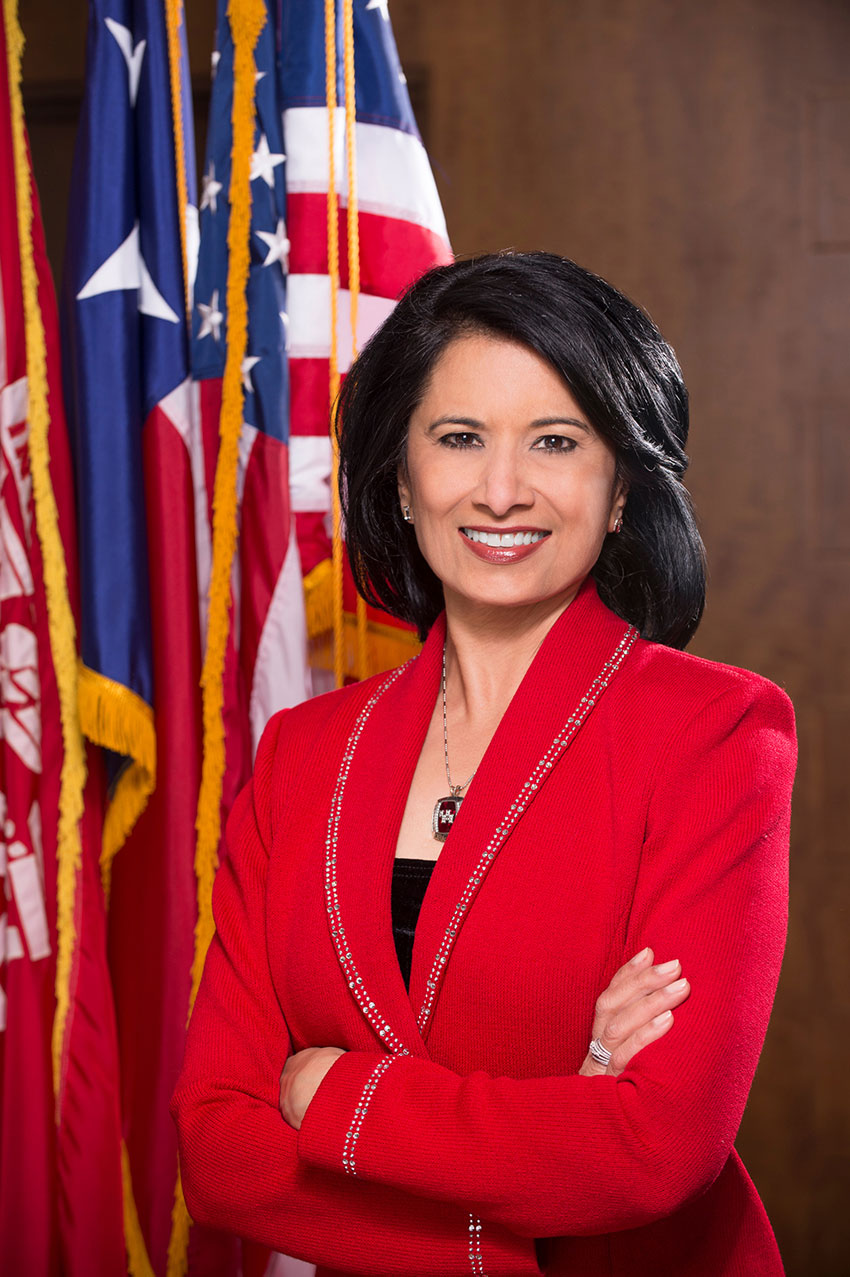 University of Houston president Renu Khator has been appointed to U.S. DHS Academic Advisory Council. (Photo: courtesy University of Houston)
