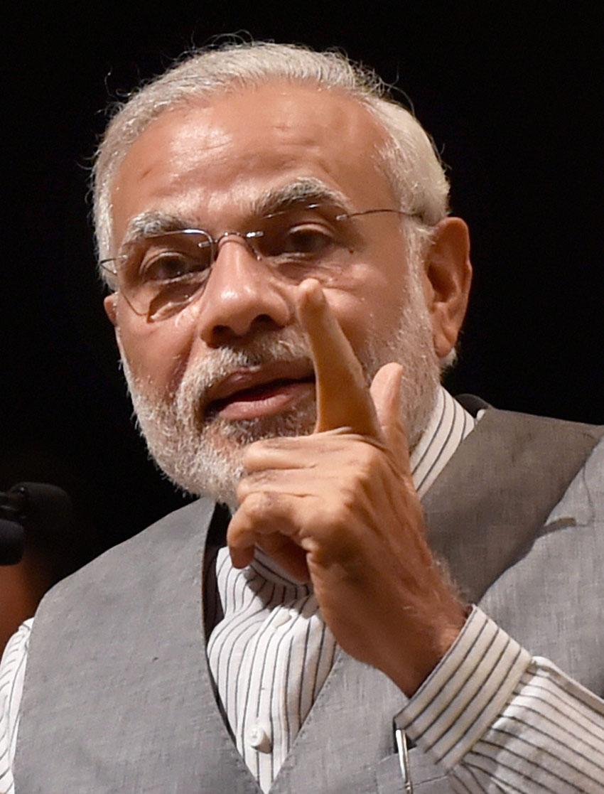 Prime Minister Narendra Modi. (Vijay Verma/PTI)