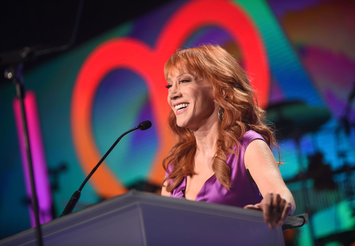 Kathy Griffin cries, says Trump