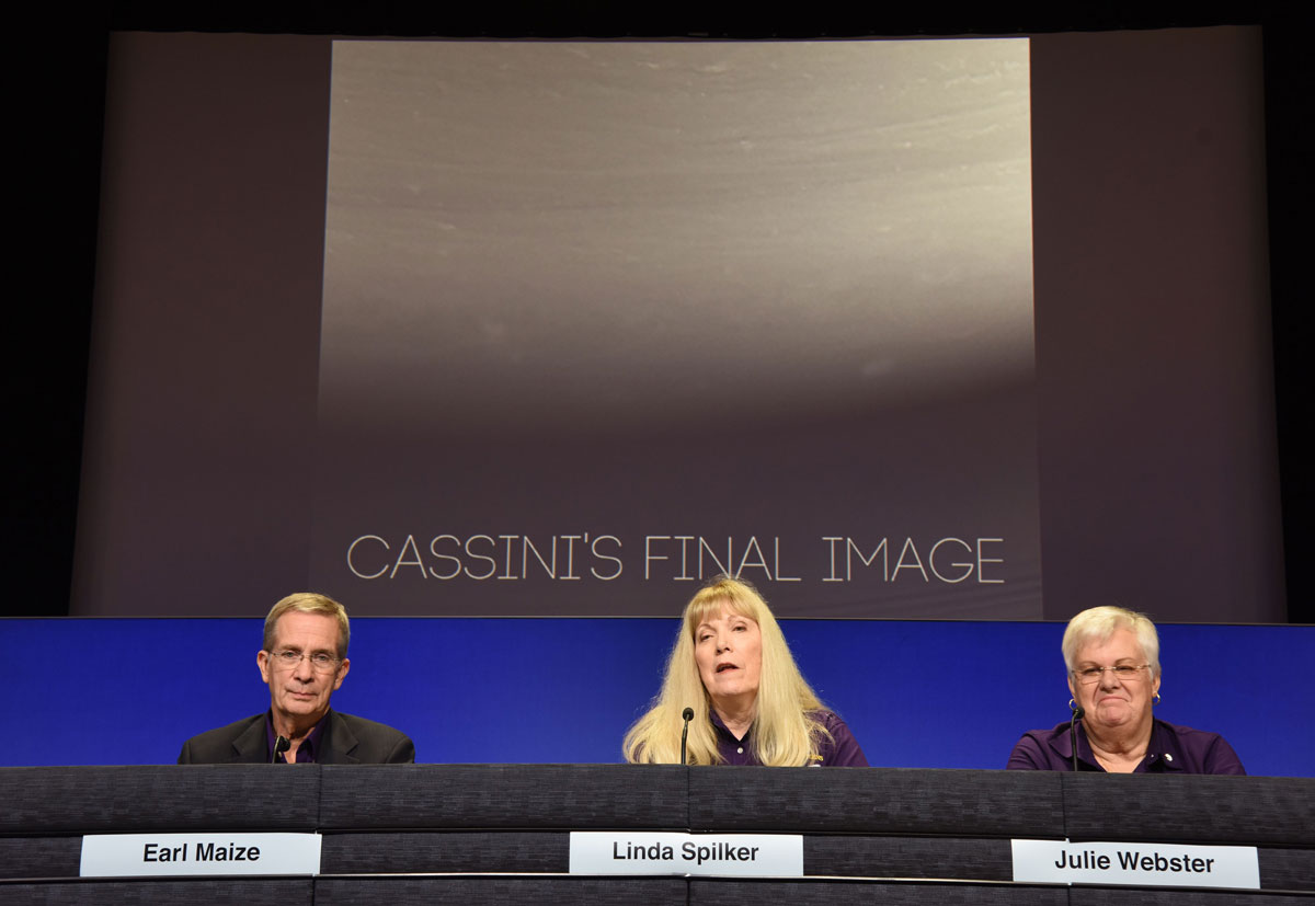 Postcards from the edge: Cassini's final images before smashing into Saturn