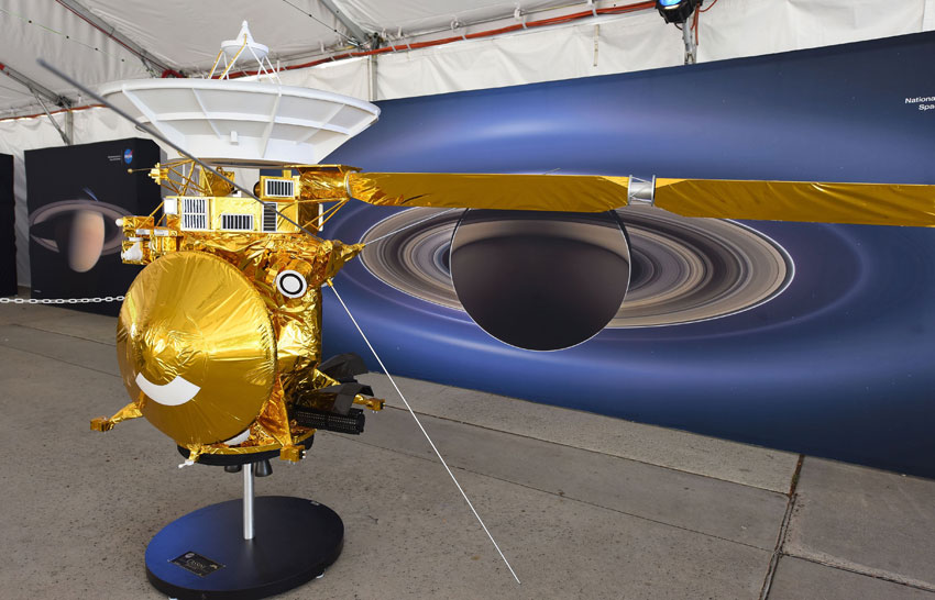 NASA ends Cassini's mission orbiting Saturn