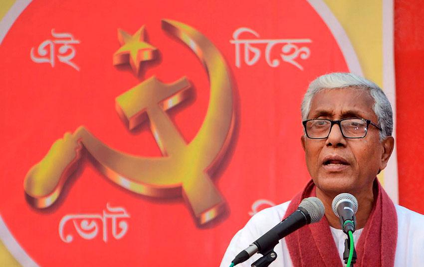 It's BJP versus CPI(M) in Tripura