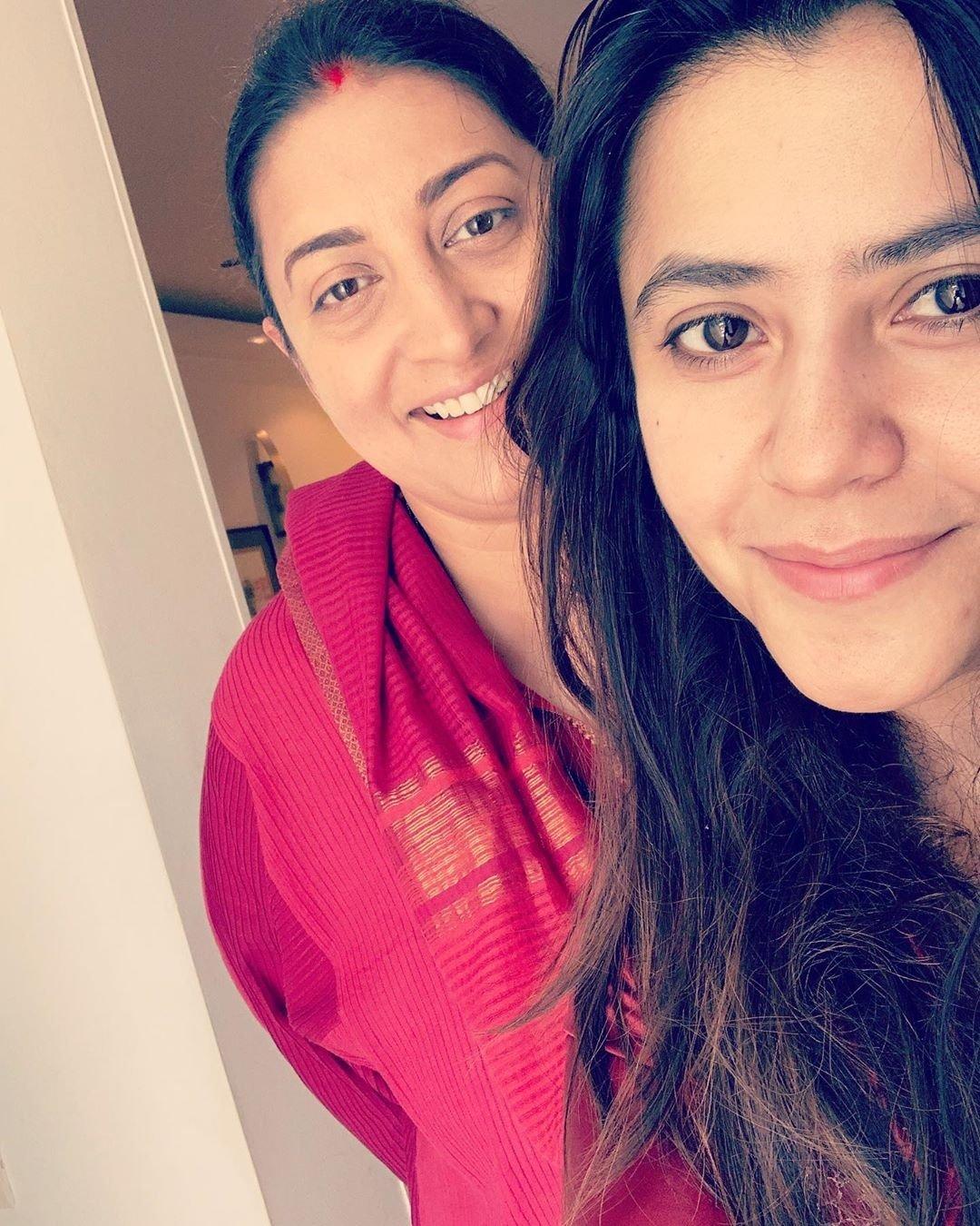 Siliconeer   Smriti Irani has a witty reaction to Ekta Kapoor's ...