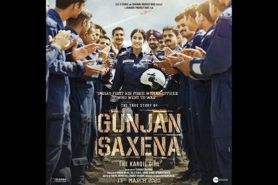 Siliconeer Gunjan Saxena Set Piece Biopic Manages To Regale Ians Review Rating